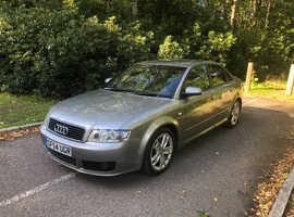 Audi A4, 2004 (54) Grey Saloon, Manual Petrol, 102,000 miles