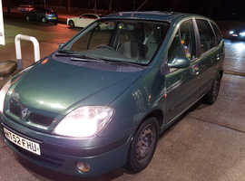 Renault  scenic 1.6 expression + 2002 (52) Green MPV, Manual Petrol, 117,150 miles