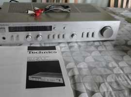 Technics Hi-Fi 1982 classic separates. OWNERS PRIDE but had to be dismantled