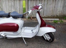1961 Lambretta Li Series 2 with 185cc kit. Registered as 125cc. Original Italian Scooter.