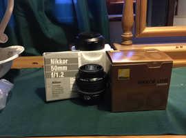 Nikon 50/1.2 Ais lens