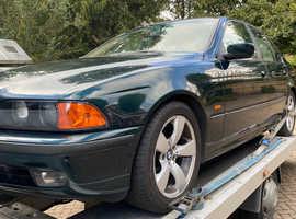 BMW 5 Series, 1997 (R) Green Saloon, Automatic Petrol, 168,999 miles