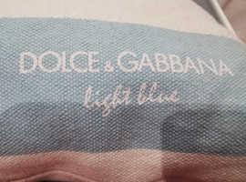 Dolce & Gabbana cushion.