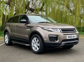 £99deposit&£310pcm, Land Rover Range Rover Evoque, 2015 (65) Brown Estate, Manual Diesel, 26,680 miles