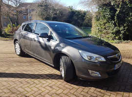 Vauxhall Astra, 2011 (60) Grey Hatchback, Manual Diesel, 114,000 miles