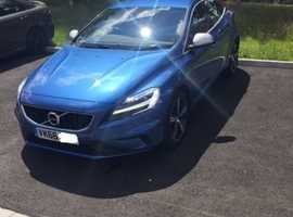 Volvo V40, 2016 (66) blue hatchback, Manual Petrol, 22,700 miles