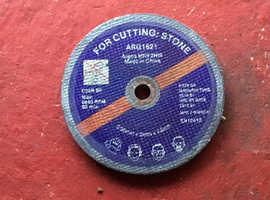 5 Discs for cutting Stone etc.
