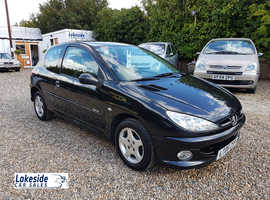 Peugeot 206 Verve 1.4 Litre 3 Door Hatch, Only 61,000 Miles, New MOT, Lovely Condition.
