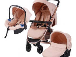 My babiie 3 in 1 travel system.