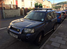 Land Rover Freelander, 2006 (06) Blue Estate, Turbo Diesel, 5 speed manual 132,400 miles