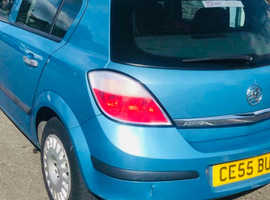 Vauxhall Astra, 2005 (55) Blue Hatchback, Manual Petrol, 106,000 miles