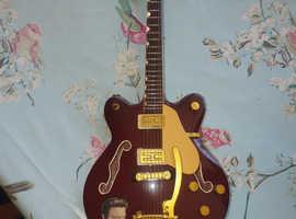 Elvis presley miniature guitars