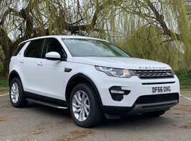 £99deposit&£360pcm, Land Rover DISCOVERY SPORT, 2016 (66) White Estate, Automatic Diesel, 26,928 miles