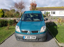 Renault Kangoo with wheelchair access facility with FREE electric wheelchair