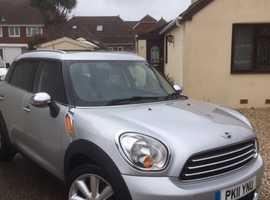 Mini MINI COUNTRYMAN, 2011 (11) silver hatchback, Manual Diesel, 69,850 miles