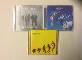 Take That cd's