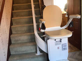 Acorn Stairlift for private sale suits curved staircase - substantial savings on purchasing new!