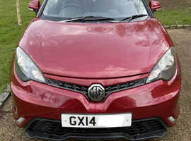 MG MG 3, 2014 (14) Red Hatchback, Manual Petrol, very low mileage