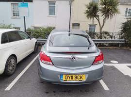 Vauxhall Insignia, 2011 (11) Silver Hatchback, Manual Petrol, 82,000 miles