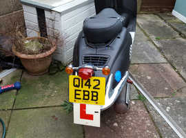 Q plate 125 moped for sale
