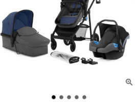 Brand new pushchair