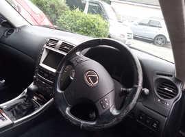 Lexus is 220d, Manual Diesel, 176bhp rwd