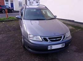 Saab 9-3, 2007 (07) grey estate, Manual Diesel, 147,000 miles