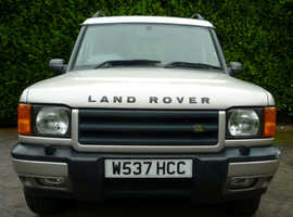 Land Rover Discovery, 2000 (W) Silver Estate, Automatic Diesel, 154,000 miles