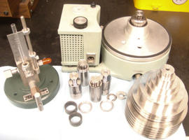 Ruska 2465 Deadweight Tester with Pistons and Weights