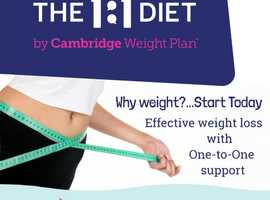 Lose Weight with 1-2-1 support!