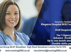 We supply work all over London for the NHS!