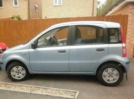 Fiat Panda, 2006 (56) Blue Hatchback, Manual Diesel, 90,000 miles