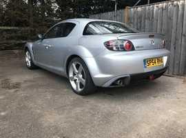 MAZDA RX-8, 2004 (54) Silver Coupe, Manual Petrol, *54,000 miles* *FSH*