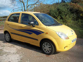 Chevrolet Matiz, 2006 (56) Yellow Hatchback, Manual Petrol, 74,000 miles