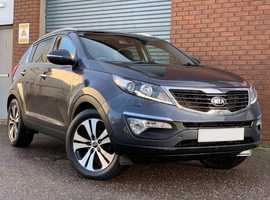 Kia Sportage 2.0 CRDI KX-3 AWD Fantastic value diesel all wheel drive Sportage, with full leather interior
