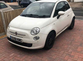 Fiat 500, 2011 (61) White Hatchback, Manual Petrol, 52,200 miles