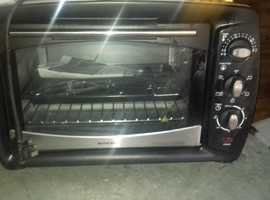 Counter top electric over and grill for sale - used