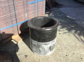 Used clay chimney pot.