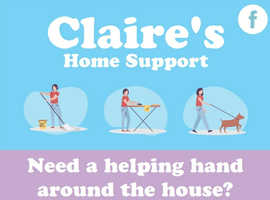 Claire's Home Support (Home Help and dog walking service)