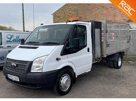 Ford Transit tipper 2012, full service history, white, low milage NO VAT