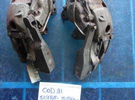 Rear brake calipers for Maserati Mistral