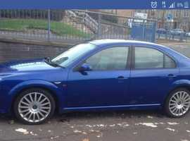 Ford Mondeo, 2003 (03) Blue Hatchback, Manual Petrol, 150,000 miles