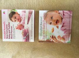 Annabel Karmel Baby Meal Planner Books x 2