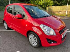 Suzuki Splash, 2013 (13) Red Hatchback, Manual Petrol, 102,000 miles