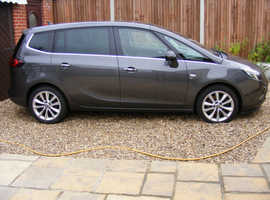 Vauxhall ZAFIRA TOURER C, 2012 (62) Grey 7 Seat MPV, Manual Diesel, 75,200 miles