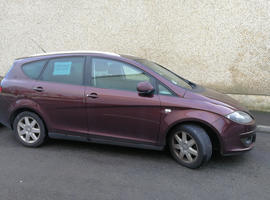 Seat Altea Xl, 2007 (07) Red Estate, Manual Diesel, 122,000 miles