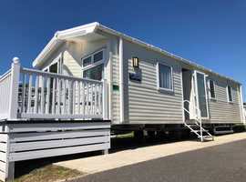 Luxury Pre Onwed static caravan for sale in Weymouth Dorset. Sea Views & Decking (5* holiday park)