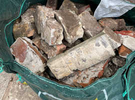 Free of charge Hard Core Rubble (Bricks & Mortar) includes some imperial bricks, soft pink warm beige