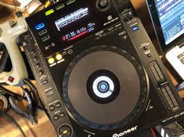 Pioneer cdj 900 DJ deck use with mixer trade technics