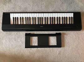 Yamaha Piaggero NP-12B Keyboard, like new (used once)